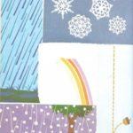 Lluvia, nieve y granizo