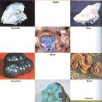 Formas y colores de las rocas