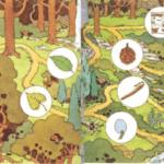 El juego del camino entre árboles (II)