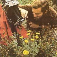 Dibujantes y fotógrafos de plantas