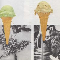 The colors of ice cream