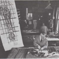 Drawings on the windows