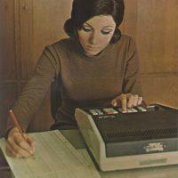 Máquinas registradoras y calculadoras