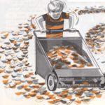 Cepillos para limpiar suelos y alfombras
