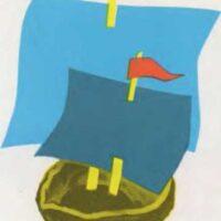 Barcos con cáscaras de nuez