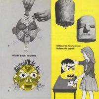 Máscaras de pasta de papel