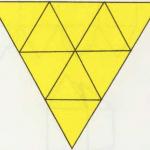 Rompecabezas con figuras geométricas