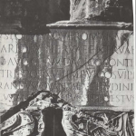 Letras sobre piedra