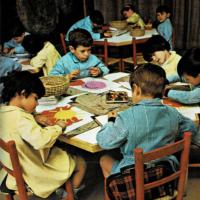 El primer día de colegio